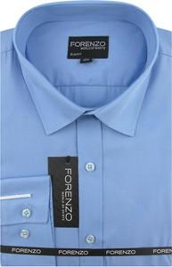 Koszula Forenzo z długim rękawem z tkaniny