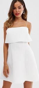 Sukienka Asos Design z tkaniny mini