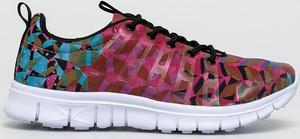 Buty sportowe Desigual Sport z nadrukiem z płaską podeszwą