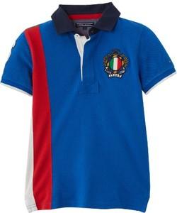 2709b41032fe6 Niebieskie bluzki i koszulki dziecięce Tommy Hilfiger, kolekcja ...