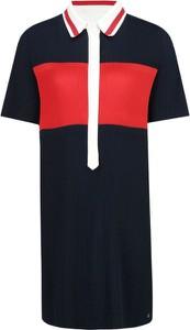 Sukienka Tommy Hilfiger z krótkim rękawem w stylu casual