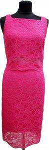 Różowa sukienka Joseph Ribkoff bez rękawów
