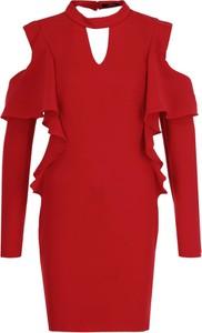 Czerwona sukienka Guess Jeans mini