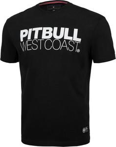 T-shirt Pit Bull w młodzieżowym stylu z krótkim rękawem z bawełny