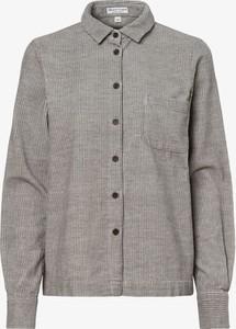 Koszula Marie Lund ze sztruksu z kołnierzykiem w stylu casual