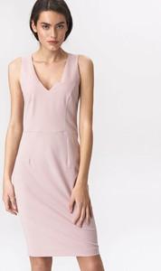 Sukienka Nife mini z dekoltem w kształcie litery v