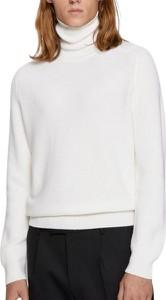 Sweter Hugo Boss w stylu casual z golfem z wełny