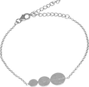 Monarti Geometryczna bransoletka ze srebra