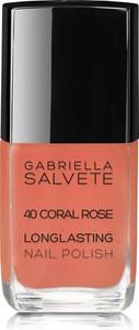 Gabriella Salvete Longlasting Enamel Lakier Do Paznokci 11Ml 40 Coral Rose