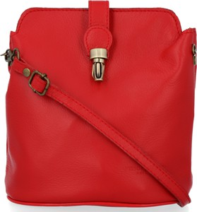 Czerwona torebka VITTORIA GOTTI na ramię matowa