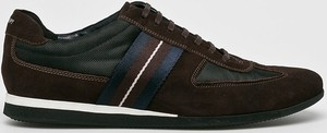 Buty sportowe Joop! ze skóry sznurowane
