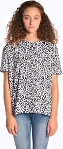 T-shirt Gate z okrągłym dekoltem w stylu casual