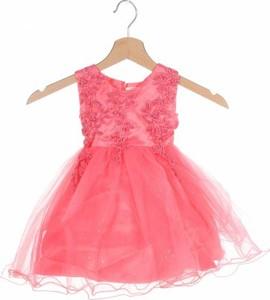 Różowa sukienka dziewczęca Les Voiliers