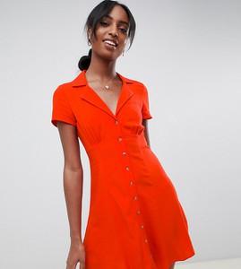 Sukienka Asos mini z krótkim rękawem