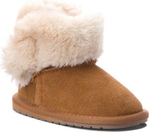 Brązowe buty dziecięce zimowe Emu Australia