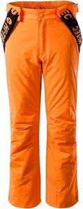 Pomarańczowe spodnie dziecięce Hi-Tec