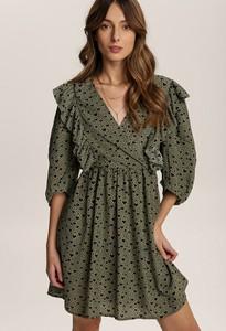 Sukienka Renee mini z długim rękawem