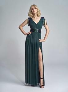 Zielona sukienka Marselini maxi