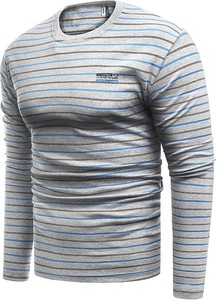 T-shirt Risardi w stylu casual z długim rękawem