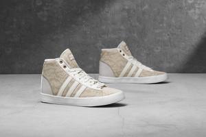 Sneakersy Adidas sznurowane na platformie