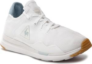 Buty sportowe Le Coq Sportif ze skóry ekologicznej z płaską podeszwą w sportowym stylu