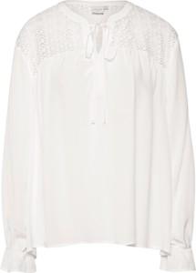 Bluzka Cream z długim rękawem