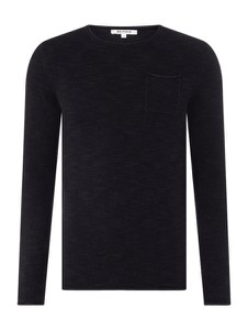 Czarny sweter Review z bawełny w stylu casual