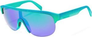 Zielone okulary damskie Italia Independent