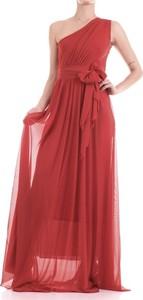 Czerwona sukienka Relish maxi