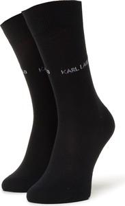 Czarne skarpety Karl Lagerfeld