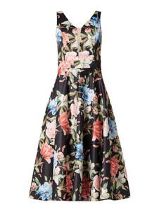 Sukienka Troyden Collection midi z dekoltem w kształcie litery v