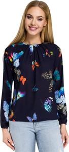 Granatowa bluzka Merg