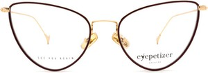 Brązowe okulary damskie Eyepetizer