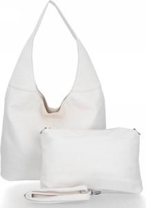 Torebka Bee Bag w wakacyjnym stylu na ramię duża