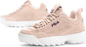 Sneakersy Fila sznurowane