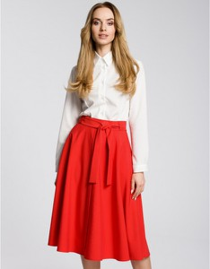 Czerwona spódnica MOE