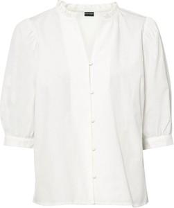 Bluzka bonprix z dekoltem w kształcie litery v z długim rękawem