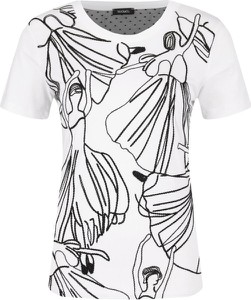 T-shirt Max & Co. z okrągłym dekoltem