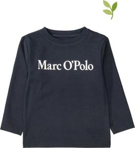 Czarna bluzka dziecięca Marc O'Polo dla dziewczynek