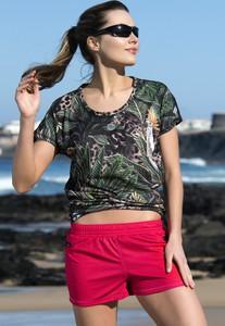 Szorty Nessi Sportswear z tkaniny