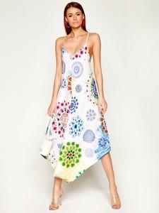 Sukienka Desigual w stylu boho maxi