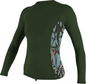 Zielona bluzka O'Neill z okrągłym dekoltem