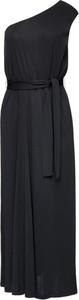 Czarna sukienka Marella asymetryczna maxi