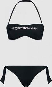 Czarny strój kąpielowy Emporio Armani w stylu casual