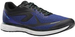 Niebieskie buty sportowe Kalenji sznurowane
