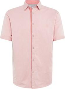 Koszula Tom Tailor z bawełny z krótkim rękawem