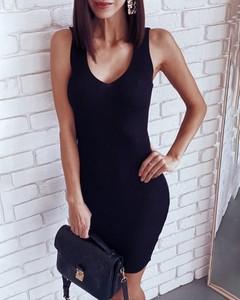 Sukienka Kendallme z bawełny na ramiączkach mini