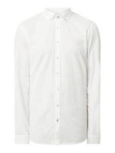 Koszula Joop! z kołnierzykiem button down z bawełny z długim rękawem