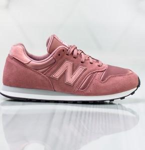 Różowe buty sportowe New Balance 373 sznurowane