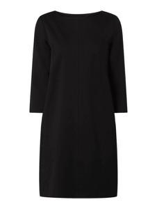 Czarna sukienka S.Oliver Red Label z okrągłym dekoltem w stylu casual mini